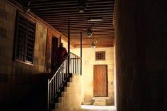 Stary meczet w Egypt obraz royalty free