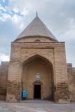 Stary meczet w Turbat wiosce, Kazachstan Zdjęcia Stock
