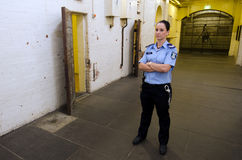 Stary Melbourne Gaol Fotografia Royalty Free
