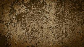 Stary metal ośniedziały z krakingową farbą z winietą Obraz Stock