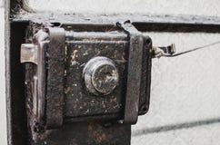 Stary metalu kędziorek Zdjęcie Royalty Free