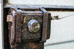 Stary metalu kędziorek Zdjęcia Stock