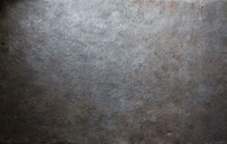 Stary metalu talerza tło Fotografia Stock