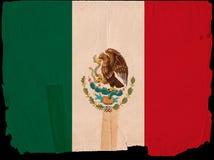 stary Mexico chorągwiany rocznik Fotografia Stock