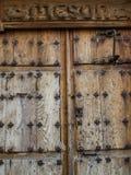 Stary mezonu drzwi Obraz Royalty Free