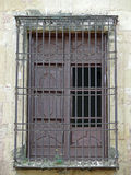 stary Mezquita cordoby okno Zdjęcia Royalty Free