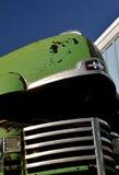 Stary Międzynarodowy Pickup kapiszon Obrazy Stock