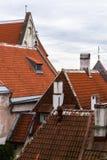 stary miasta tallin Zdjęcie Stock