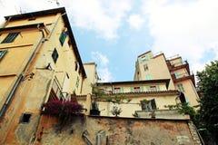 Stary miasteczko Ładny, francuz Reviera, Francja Obraz Royalty Free