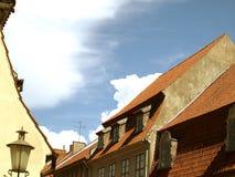 stary miasteczko Zdjęcia Stock