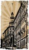 stary miasteczko Fotografia Stock