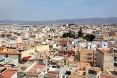Stary miasteczko Aguilas, Murcia, Hiszpania Obrazy Stock
