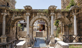 Stary miasteczko Antalya obraz stock