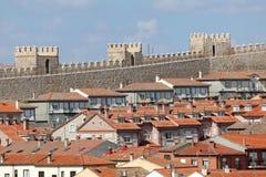 Stary miasteczko Avila, Castilla y Leon, Hiszpania Obrazy Royalty Free