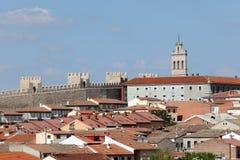 Stary miasteczko Avila, Castilla y Leon, Hiszpania Obraz Stock