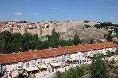 Stary miasteczko Avila, Castilla y Leon, Hiszpania Obrazy Stock