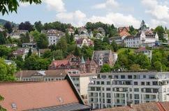 Stary miasteczko Baden-Baden Fotografia Royalty Free