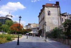 Stary miasteczko, Bucharest obrazy stock