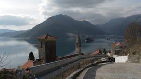 Stary miasteczko Budva w Montenegro zbiory