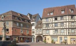 Stary miasteczko Colmar Zdjęcie Royalty Free
