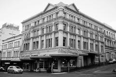 Stary miasteczko Dunedin, Nowa Zelandia Fotografia Royalty Free