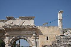 Stary miasteczko Ephesus. Turcja Obraz Royalty Free