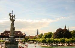 Stary miasteczko Konstanz zdjęcie stock