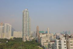 stary miasteczko Kowloon miasta Hong kong Zdjęcie Stock
