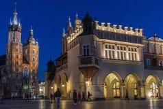 Stary miasteczko Krakow, Polska fotografia royalty free