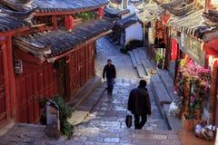 Stary miasteczko Lijang Chiny Fotografia Stock