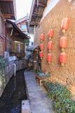 Stary miasteczko Lijang Chiny Zdjęcie Royalty Free
