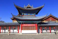 Stary miasteczko Lijang Chiny Zdjęcie Stock