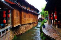 Stary miasteczko Lijiang Zdjęcie Royalty Free