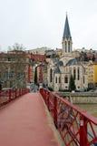 Stary miasteczko, Lion, Francja Obrazy Royalty Free