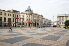 Stary miasteczko, Lublin, Polska Obrazy Royalty Free