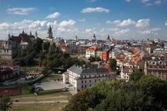 Stary miasteczko, Lublin, Polska Fotografia Stock