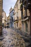 Stary miasteczko Malaga fotografia royalty free