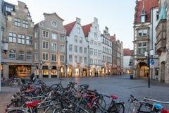 Stary miasteczko Muenster, Niemcy Zdjęcia Royalty Free