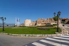 Stary miasteczko Nesebar, Bułgaria Zdjęcia Royalty Free