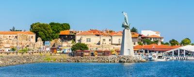 Stary miasteczko Nesebar w Bułgaria Czarnym morzem Fotografia Stock