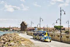 Stary miasteczko Nessebar, Bułgaria Zdjęcia Stock