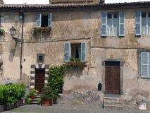 stary miasteczko Orvieto, Umbria, zdjęcia stock