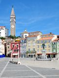 Stary miasteczko Piran, Adriatic morze, Slovenia Fotografia Royalty Free