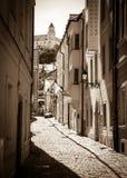 Stary miasteczko przy Bratislava, Sistani Fotografia Stock