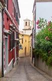 Stary miasteczko Sirolo, Marche, Włochy Fotografia Stock