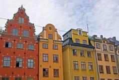 Stary miasteczko, Sztokholm obraz royalty free