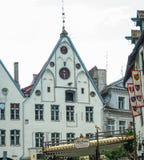 Stary miasteczko Tallin Obraz Stock