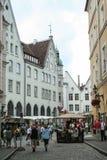 Stary miasteczko Tallin Zdjęcia Stock