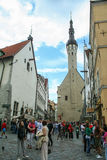 Stary miasteczko Tallin Obrazy Royalty Free