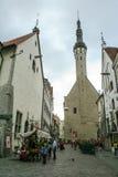 Stary miasteczko Tallin Fotografia Stock